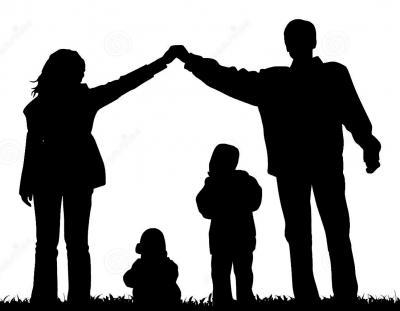 Famille de silhouette 3566679
